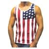 Mens Stars & Stripes American Flag Tank Top Shirt