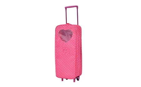 "18"" Doll Travel Carrier Trolley Case Without Bed And Bedding 9e9f1287-7319-4487-b085-9587736f3d9e"