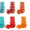 Calypso Basics by Reston Lloyd 12-Piece Enamel on Steel Bowl Set w Airtight Lids
