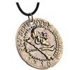 Metal Pendant Coin Unisex Necklace
