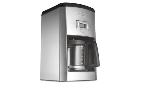 Delonghi Dc514t 14 Cup Drip Coffee Maker, Stainless Steel, Black/Silver 13cbc6b0-8be4-44b3-8e4e-31bb171afb6c