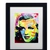 Dean Russo 'Marilyn Monroe I' Matted Black Framed Art