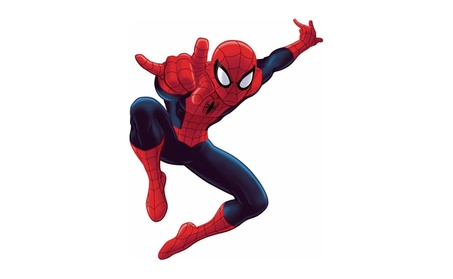 Roommates Decor Ultimate Spider-Man Giant Wall Decal 66dce9ca-3bd1-4fcc-8d43-73b86319fedf