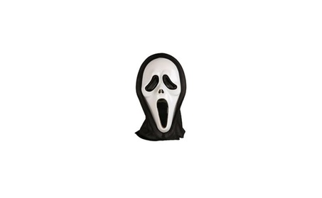 Halloween Costume Mask Cosplay Costume Party Mask White 50044c00-4781-40a8-a484-51c75605c970