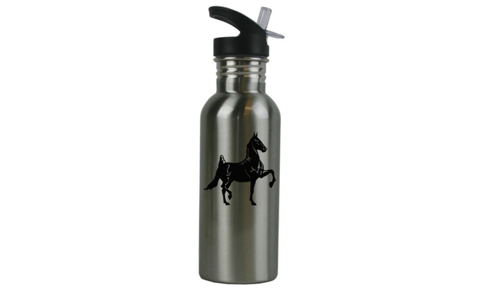 Personalized Custom Horse Stainless Steel Sport Water Bottle Gift
