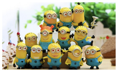 12Pcs Small Yellow People Movie Character Figures Doll fbb9614b-9176-45d0-ac84-d15093a7adcb