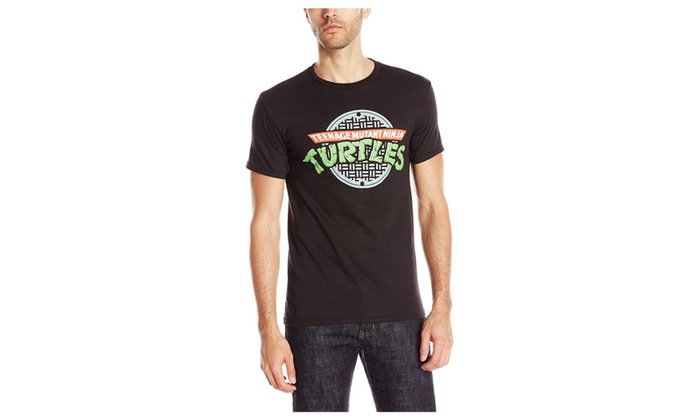 4af31237b52 TQTA Teenage Mutant Ninja Turtles TMNT manhole Adult Tee