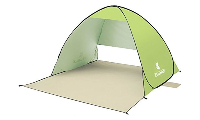 ChezMax Pop Up Instant Portable Outdoors Beach Tent Sun Shelter