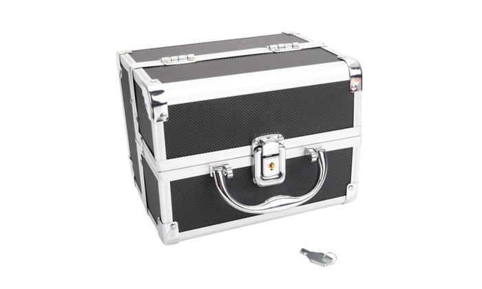 Makeup Train Case Cosmetic Cases Makeup Storage Organizer Box ...