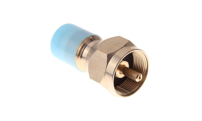 Outdoor Stove Propane Refill Adapter Gas Cylinder Tank Coupler