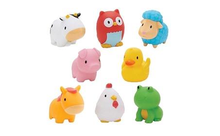 Munchkin Squirtin Bath Toy, Barnyard Friends 50641b4e-5735-44e4-b53f-945c16fae2d8
