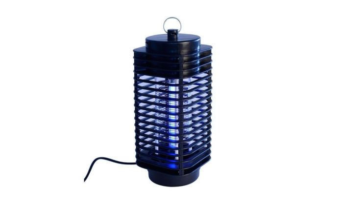 Electric Mosquito Fly Bug Insect Zapper Killer Trap Lamp Black Hot