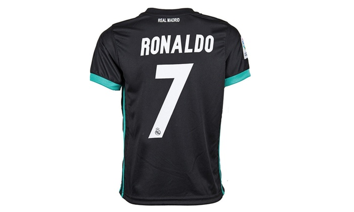 the best attitude 120bb b896b Real Madrid Home Ronaldo 7 Soccer Jersey & Matching Shorts ...