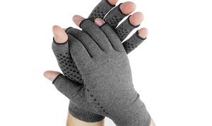NuWelness Carpal Tunnel & Arthritis Relief Textured Gloves