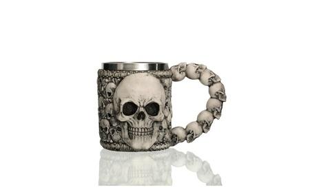 Underworld Drinking Tankard Mug - Death Skull Coffee Cup Skeletal 85da3b5b-178e-46fc-9441-5d43f8757325