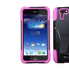 Insten Hot Pink Hybrid Inverse Cover T-stand Case For Asus Padfone X