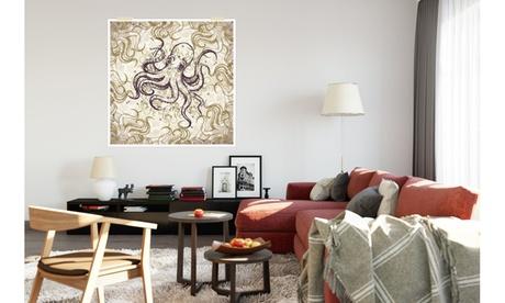 Ocean Life Pattern Art Printed on Matte Poster Paper 436c71a8-9997-418e-93c6-02a17335ed1e