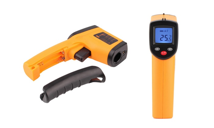 Digital Handheld Thermometer Infrared Laser Temperature Gun