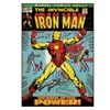 Roommates Decor Iron Man Comic Cover Giant Wall Decal