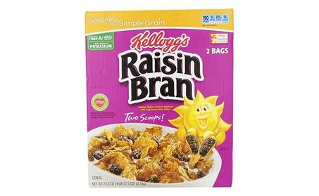 Kellogg's Raisin Bran Cereal, 76.5-Ounce Box 31dddad4-fdd5-4da9-95a7-b7f0fd0b0e24