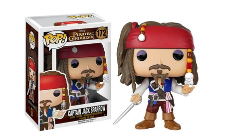 Pirates of the Caribbean Model Toys Jack Sparrow Captain Action Figure ac65e47e-1f6f-4407-be90-d02fc33ff638