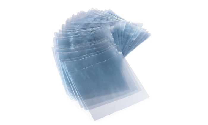 Heat Shrink Wrap Bags By GSP 3D – 6''x6'' & 100 Gauge - For Bath Bombs