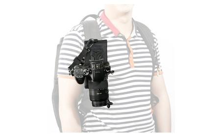Movo Universal DSLR/SLR Camera Holster System for Backpack/Camelbak ae4197b5-f192-44ec-b302-982bbbadb504