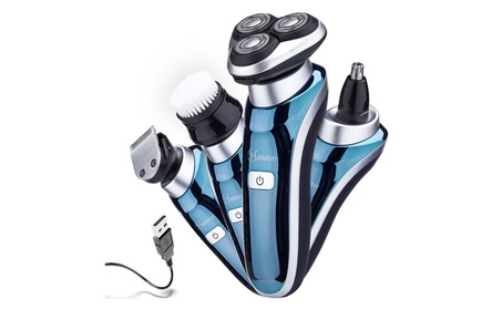 Hatteker 4 in 1 Electric Shaver Rotary Shavers 3c5ab357-9fd5-43c5-93f7-e0517137fa4a