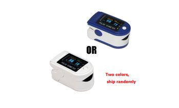 One SpO2 Fingertip Pulse Oximeter Blood Oxygen OLED Heart Rate Monitor CMS50D