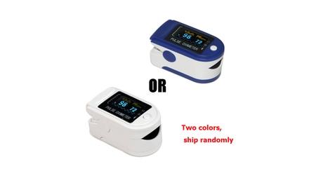 One SpO2 Fingertip Pulse Oximeter Blood Oxygen OLED Heart Rate Monitor CMS50D