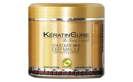 Keratin Cure Deep Hair Reparation Masque Chocolate Max with 500g/17oz 62f4117d-b2a3-4cf9-a7a0-8546d133e82e