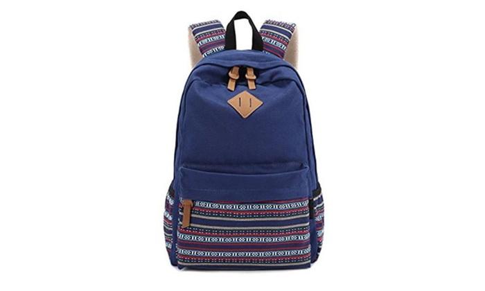 Casual Style Fashion Cute Travel School College Shoulder Bag / Bookbag