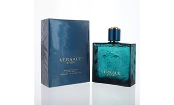 Versace Eros By Versace 3.4 Oz Edt Spray New In Box For Men