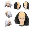 Halloween Party Cosplay Bald Head Wig Old Lady Wig Masquerade Costume