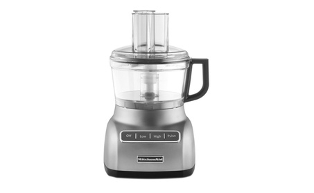 KitchenAid KFP0711CU 7-Cup Food Processor Contour Silver (Refurbished) ca6b0c09-99d6-4e94-9f62-0ce37b3dd484