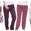 Beautiful And Comfortable Soft Home Loungewear Bottom Pajamas 4Pack