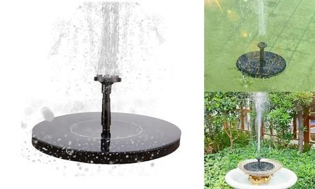 Solar Fountain Pump Floating Solar Powered Pump for Garden Pond or Fountain