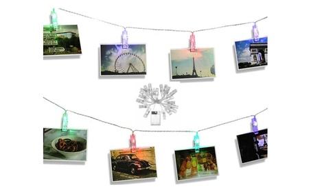 LED Photo Clip String Lights Fairy Wall Party Decoration(1,2,3 Packs) 32d35e30-6109-4c44-b269-922f05b08d1d