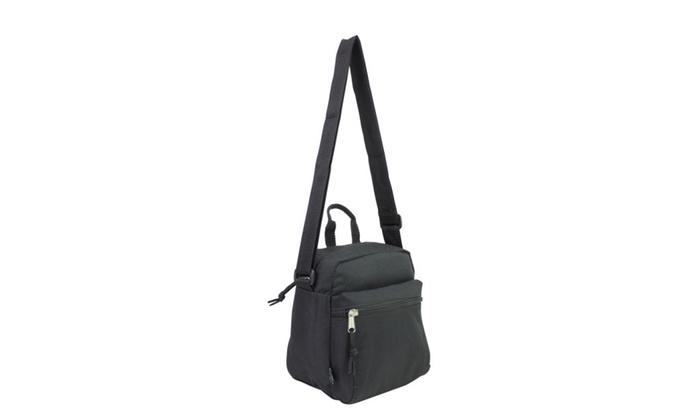 Eastsport Black Gear Messenger Bag