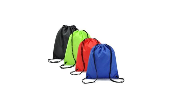 Super Waterproof Travel Drawstring Backpack Sack Gym Bag