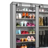 9-Tier Large Shoe Rack organizer with Cover