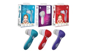 Pursonic 5-in-1 Facial Cleansing Brush and Massager Combo Kit
