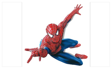 Spiderman Sticker Pack for Kids Room Wall Decor 61f5d0ef-9f28-4b58-855e-a816b7491556