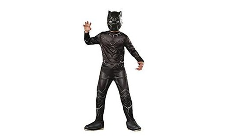 Ruby's Kids Muscle Chest Black Panther Movie Costume - Large 12 to 14 5d4bc535-f82b-4a19-882f-5d33bc987c65