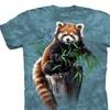 The Mountain Boy's Graphic T-shirt Bamboo Red Panda