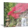 Japanese Maple Trees Floral Photography Metal Wall Art 28x12