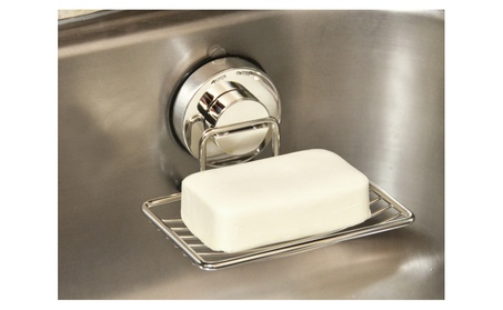 Genexice Stainless Steel Soap Dish with Power Gel Suction Cup dc9ed338-4c26-4e2e-9897-f7416ddf76ef