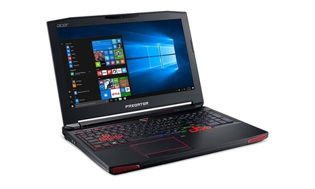 "Acer Predator 15 15.6"" Laptop with Intel Core i7 2.6GHz Processor, 16GB RAM, 1TB HDD, and 256GB SSD (Mfr. Refurb.) 2ebc1219-79d7-4ec4-a67e-f627f418922b"