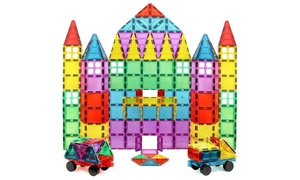 Magnet Build Deluxe 100 Piece 3D Magnetic Tile Building Set