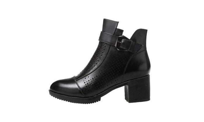 Women's Cutwork Round Toe Fashion Sandals